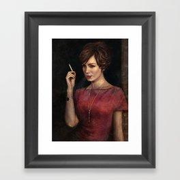 Joanie Framed Art Print