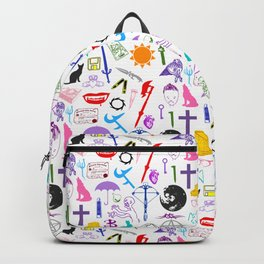 Buffy Symbology, Multi-color / Rainbow / PRIDE! Backpack
