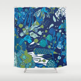 WATER YOU TALKING ABOUT? Shower Curtain