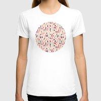 grid T-shirts featuring grid by Marta Olga Klara