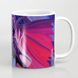 Jewel Toned Dragon of the Amethyst and Ruby Caverns Coffee Mug