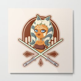 Ahsoka the padawan Metal Print