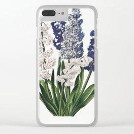 Hyacinths Illustration by Robert John Thornton. Clear iPhone Case