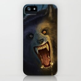 Moonlit Werewolf iPhone Case