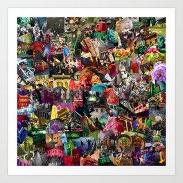 New Orleans Mix Art Print
