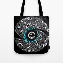Crazy Eyeball - Digital from drawing Tote Bag