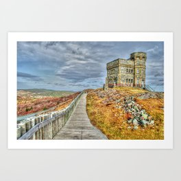 Cabot tower Art Print