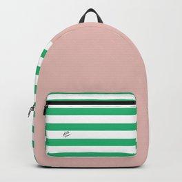 Green Stripes Nude #summer #minimal #art #design #kirovair #buyart #decor #home Backpack