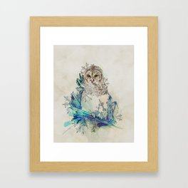 Night Frost Framed Art Print