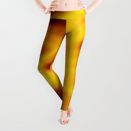 A flowing pattern of smooth yellow lines on a brocade veil with transparent luminous transitions. Leggings