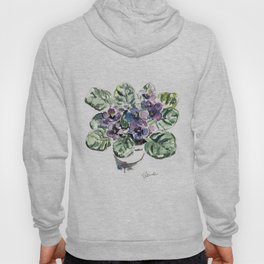 African Violets Hoody