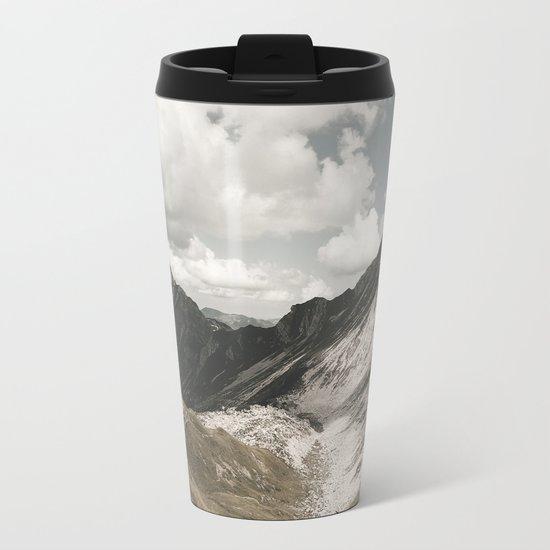 Cathedrals - Landscape Photography Metal Travel Mug