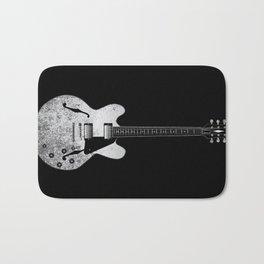 Jazz Guitar Bath Mat