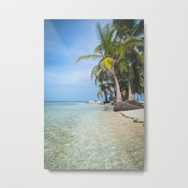 The San Blas Islands in Panama. Isla Iguana Metal Print