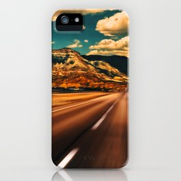 Out on the Open Road—American West Style iPhone Case