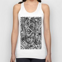 africa Tank Tops featuring Africa by Pumpaillust