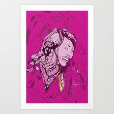 Digital Drawing #1 Art Print