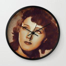 Jean Parker, Movie Legend Wall Clock