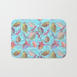 Lizards and More Leaves Bath Mat
