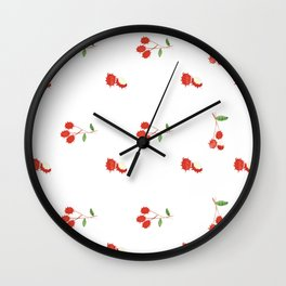 Rambutan - Singapore Tropical Fruits Series Wall Clock