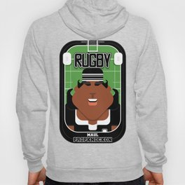 Rugby Black - Maul Propknockon - Aretha version Hoody