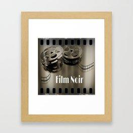 Film Noir Framed Art Print