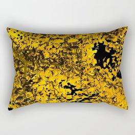 Ginko Leaves In California Rectangular Pillow