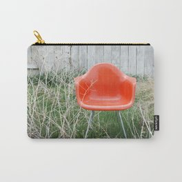 Orange Chair Carry-All Pouch