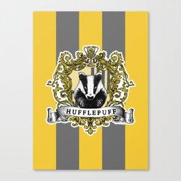 Hufflepuff Color Canvas Print