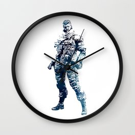 Venom Snake - Metal Gear Solid Wall Clock