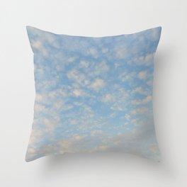 Blue Sky Photograph Throw Pillow