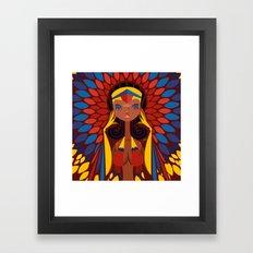 FIFA 2014 Samba Girls Series: Colombia Framed Art Print