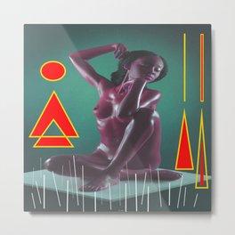 Woman n115 Metal Print