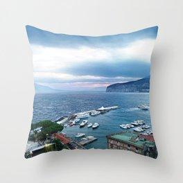 Sorrento at Sunrise Throw Pillow