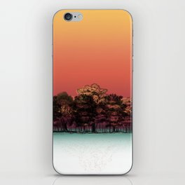 Fall Is Coming - Forest View iPhone Skin