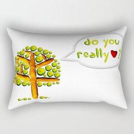 Do you love? Rectangular Pillow