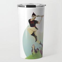 Viridian Flutist Travel Mug