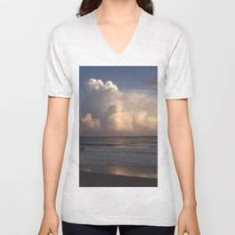 Sunset Party Unisex V-Neck
