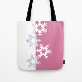 New year , snowflakes Tote Bag
