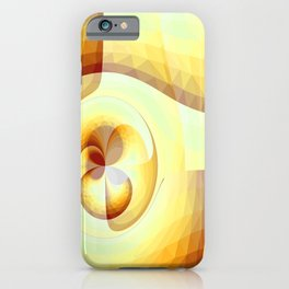 Gradienne Magna 63 Yellow iPhone Case
