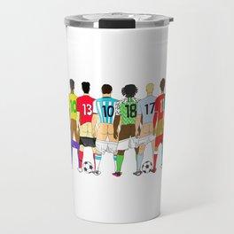 Soccer Butts Travel Mug