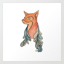 BatFox Art Print