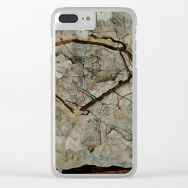 "Egon Schiele ""Autumn Tree in Stirred Air (Winter Tree)"" Clear iPhone Case"