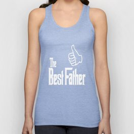 The Best Father Unisex Tank Top