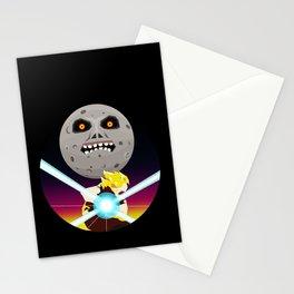 Goku VS Moon Stationery Cards