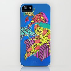 Pizza Eating Pizza - Blue Edition iPhone (5, 5s) Slim Case