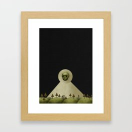 A Death In January Framed Art Print