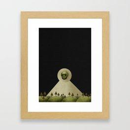 A Death In January Framed Art Print