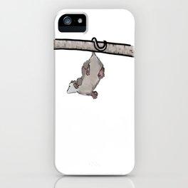 Hanging Opossum iPhone Case