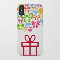 gift card iPhone & iPod Cases featuring Gift by aleksander1